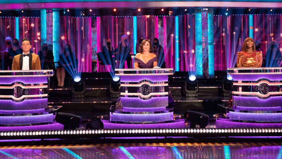Judges Craig Revel Horwood, Shirley Ballas and Motsi Mabuse