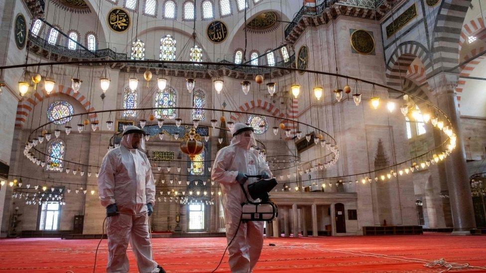 Süleymaniye camii, İstanbul