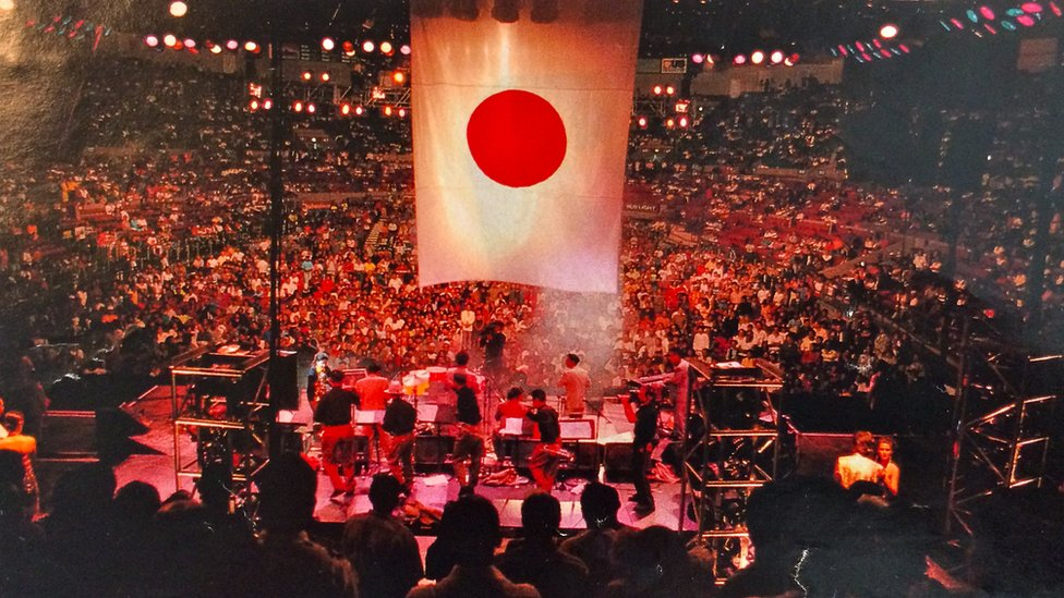 La Orquesta De La Luz en el Madison Square Garden.