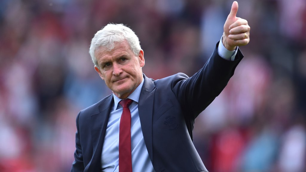 Mark Hughes: Southampton boss signs new three-year contract