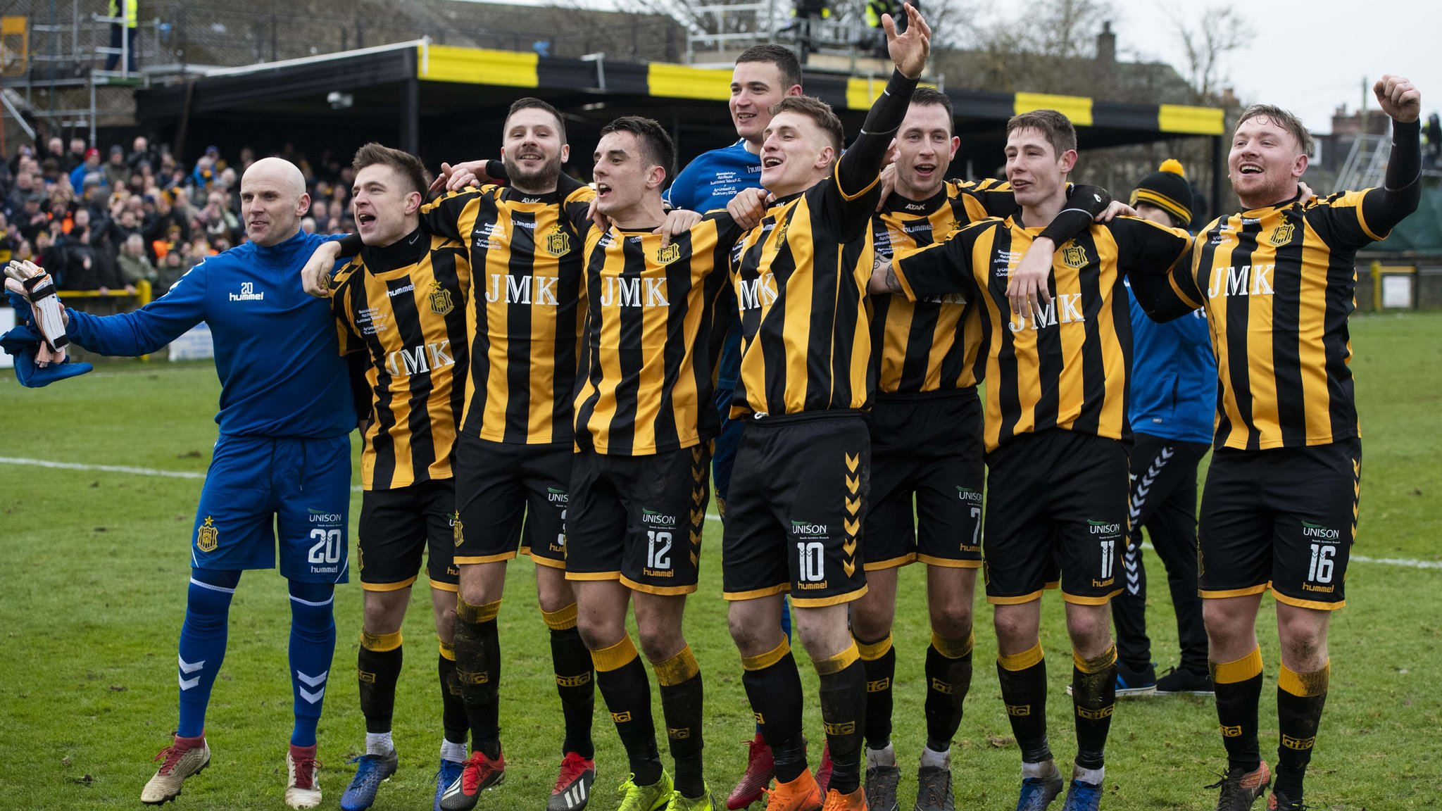 Scottish Cup: Auchinleck Talbot draw Hearts in last 16