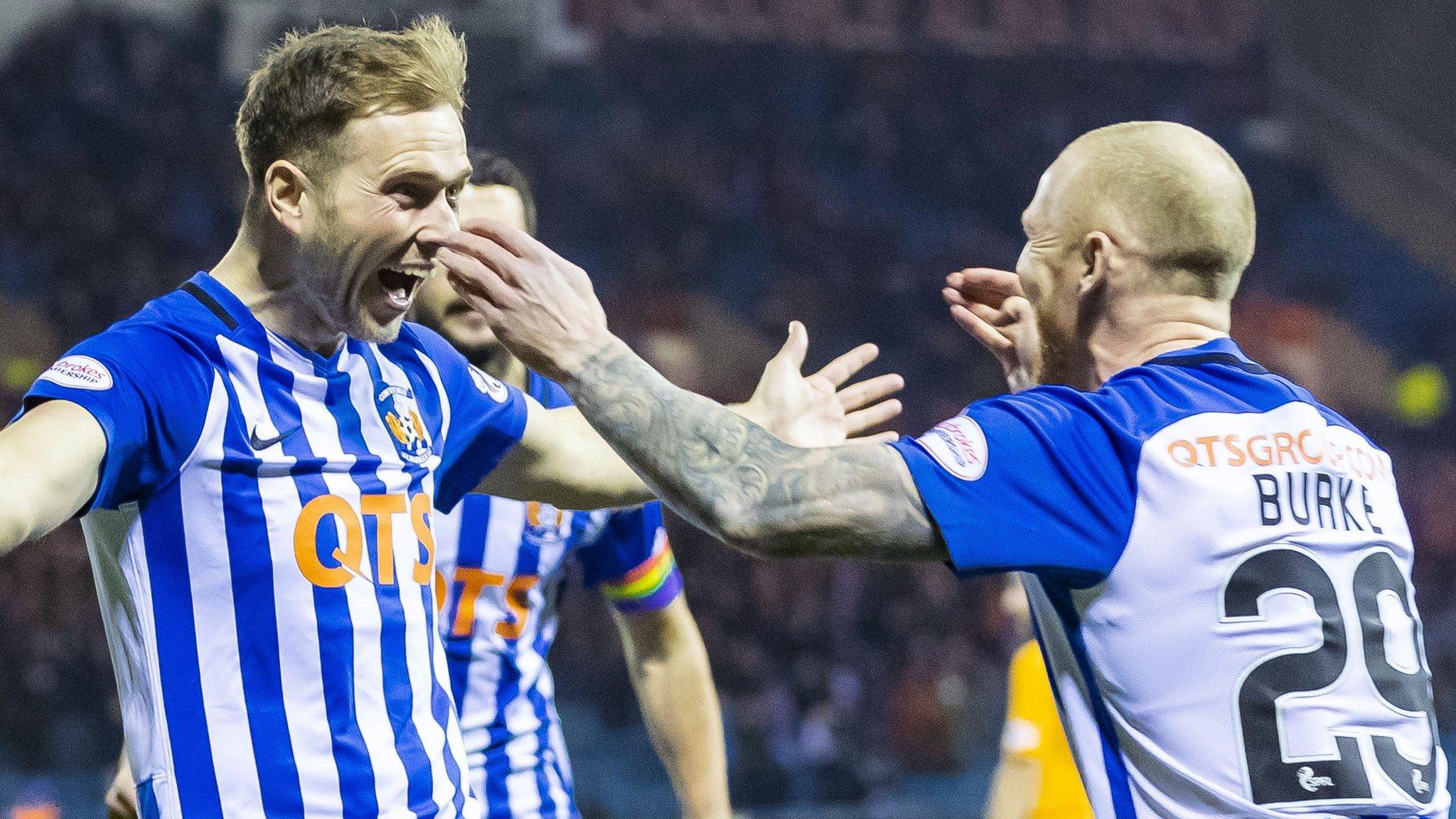 Kilmarnock 2-0 Livingston: Greg Stewart double puts Ayrshire side top