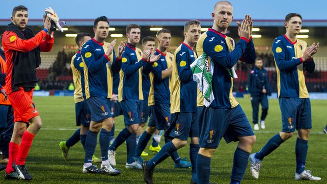 East Kilbride made the last 16 of this season's Scottish Cup