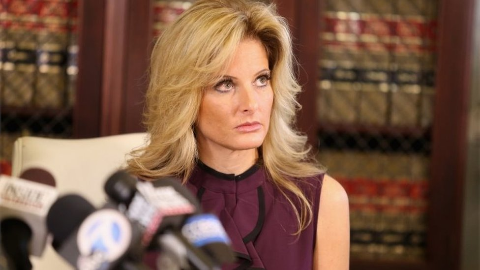 Summer Zervos, former Apprentice participant, who accuses Donald Trump of inappropriate sexual conduct, 14 October 2016