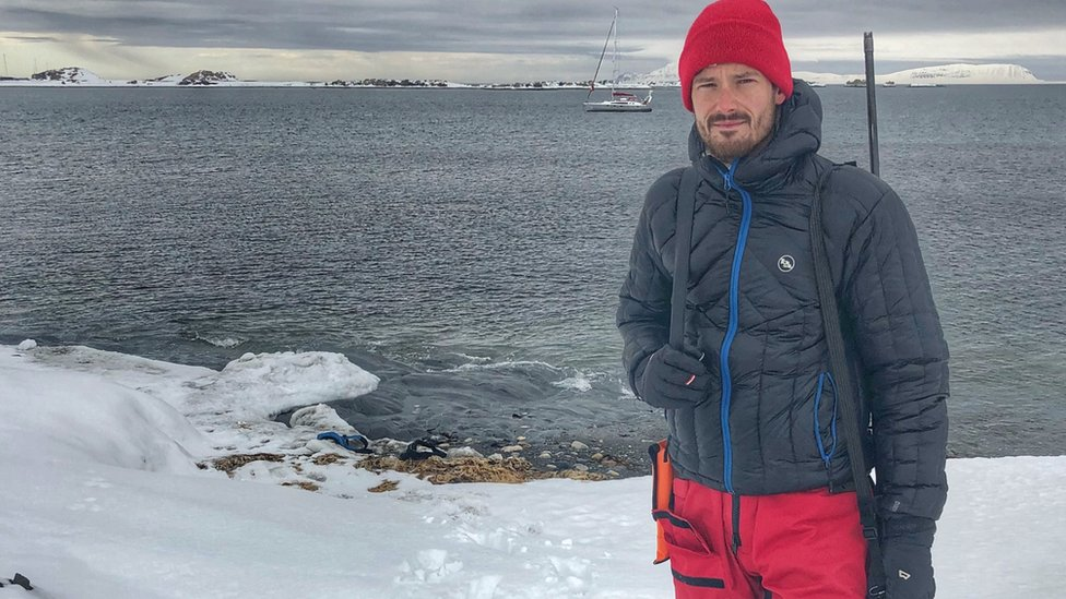 Adventurer Leon McCarron dreamed about going to the Arctic since he was a child