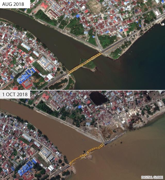 Palu most, pre i kasnije
