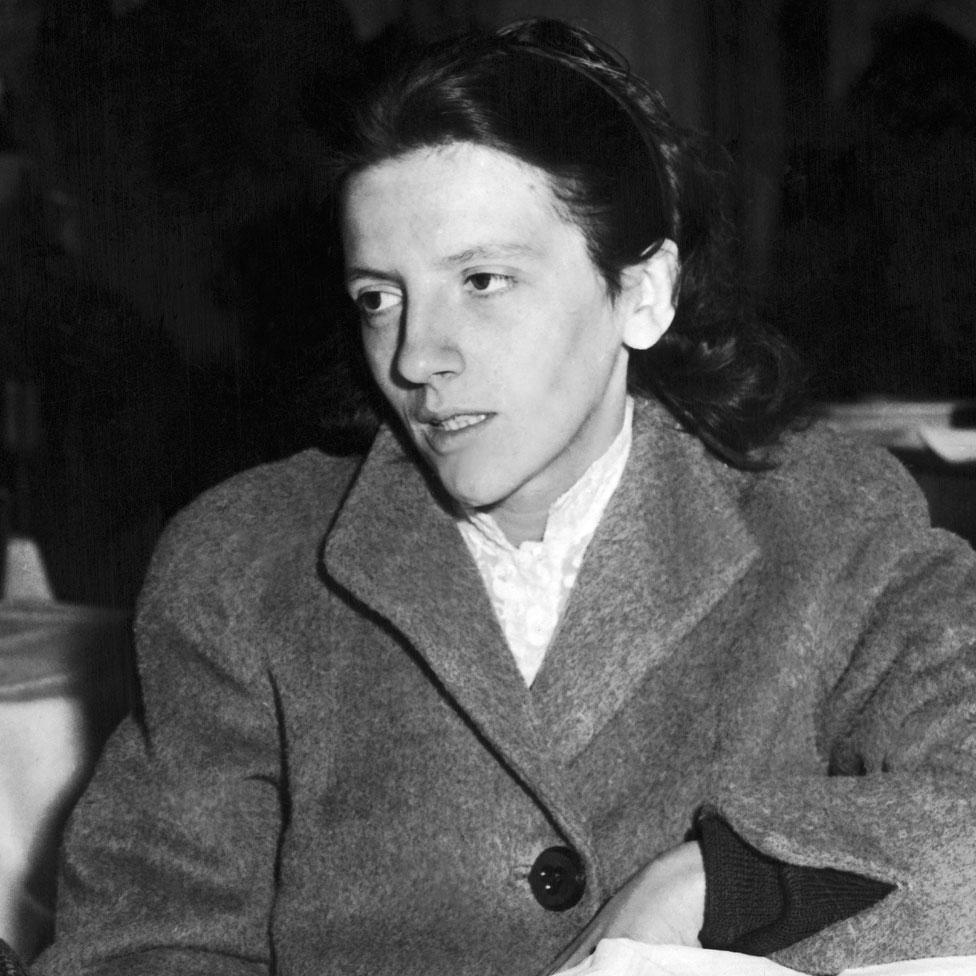 Josette Audin en diciembre de 1957