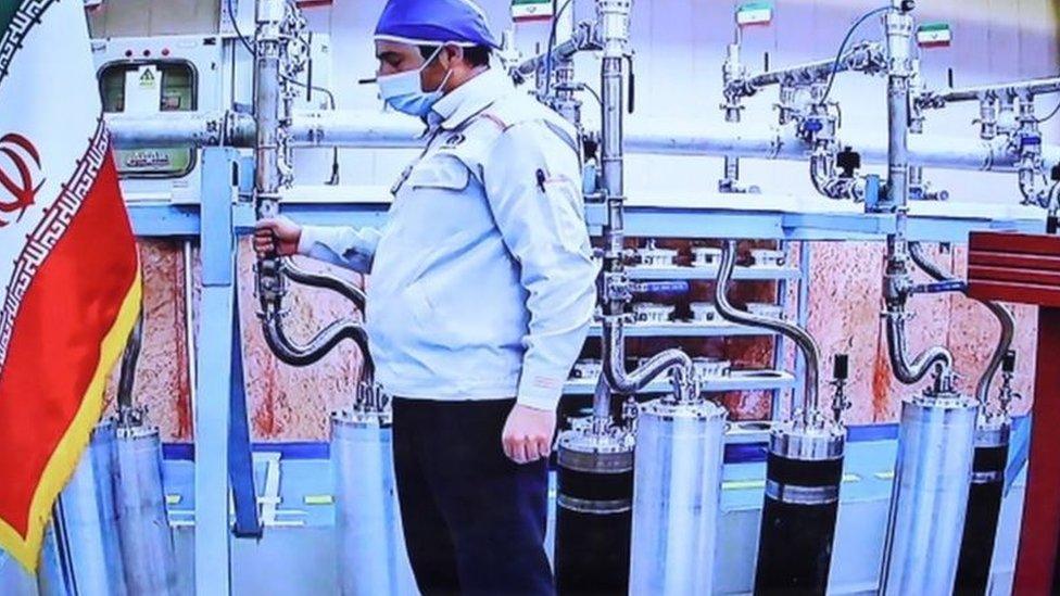 البرنامج النووي الإيراني