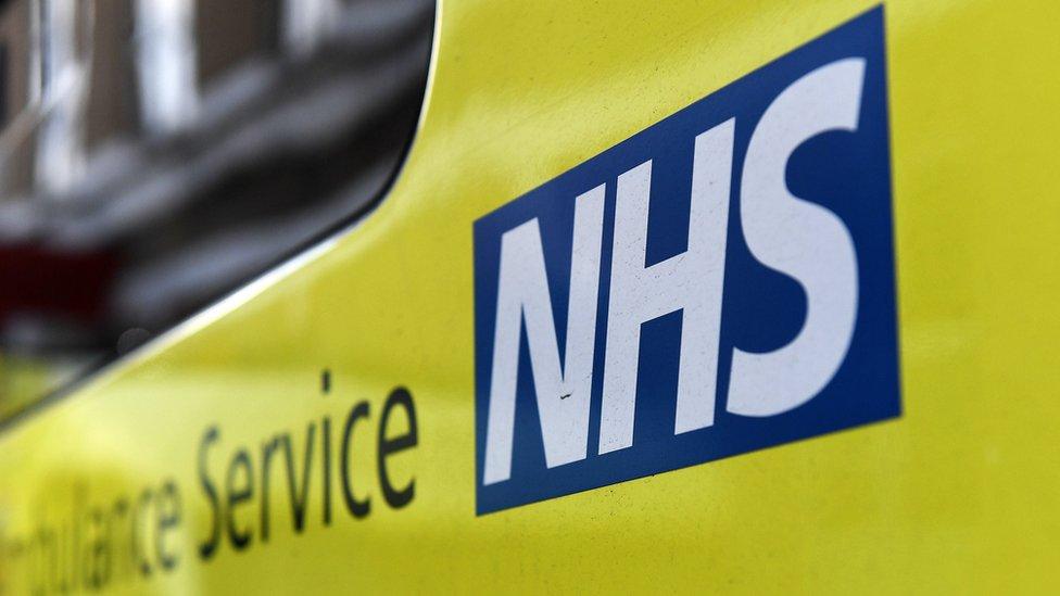 NHS Trust sign