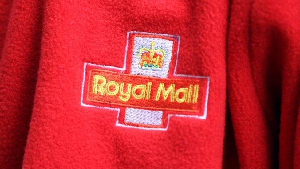 Royal Mail badge