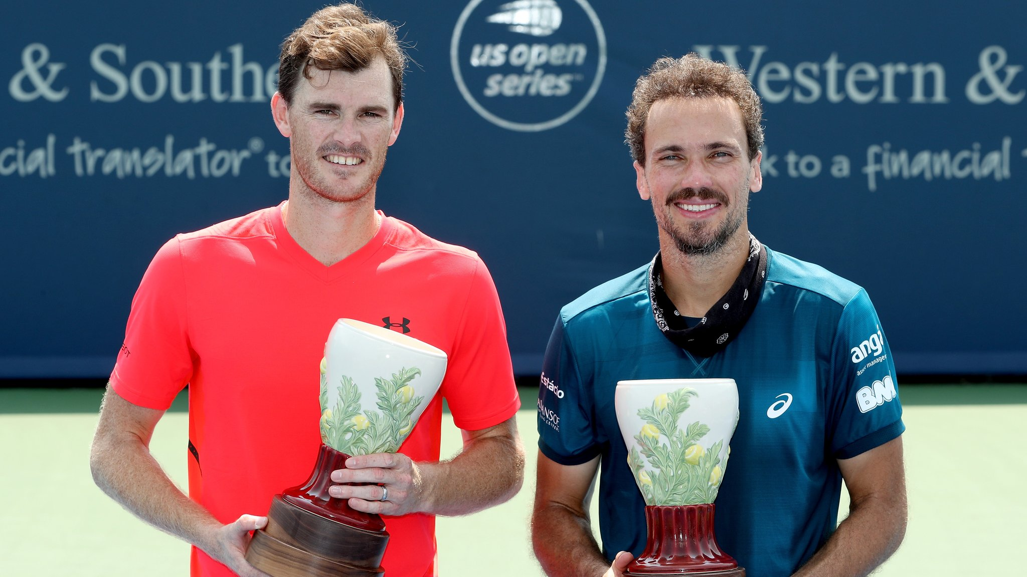 Cincinnati Masters: Jamie Murray and Bruno Soares win doubles final