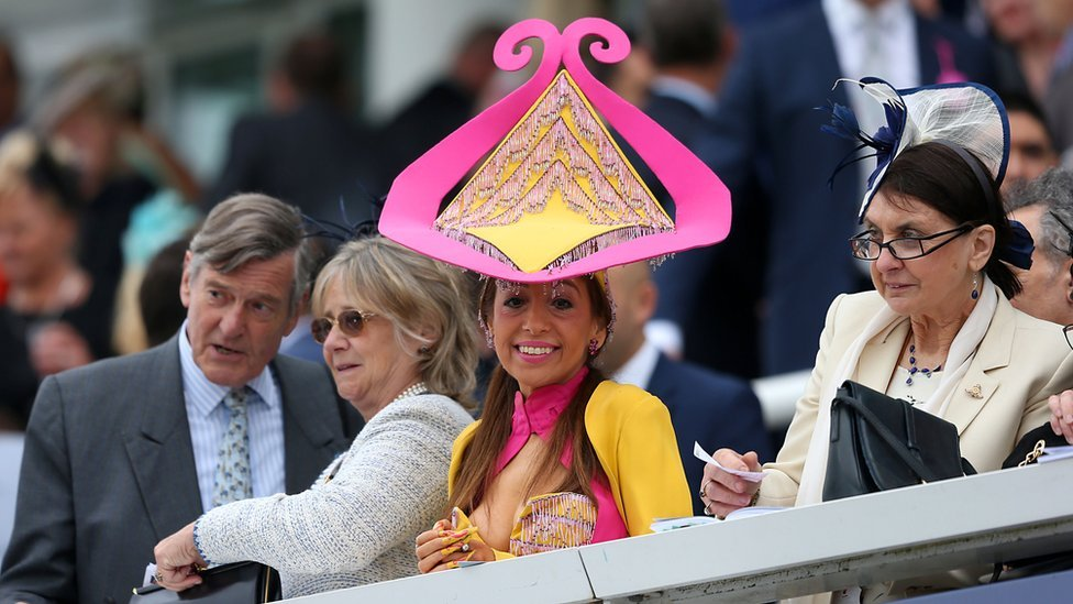 Ladies Day during the 2016 Investec Epsom Derby Festival at Epsom Racecourse