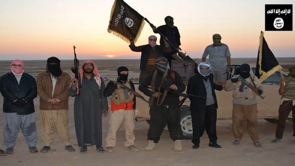 مسلحون في تنظيم داعش