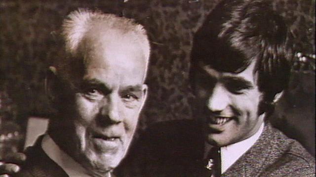 Bob Bishop with George Best