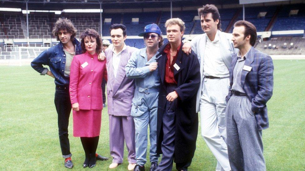Bob Geldof, Elton Džon i druge muzičke zvezde uoči koncerta