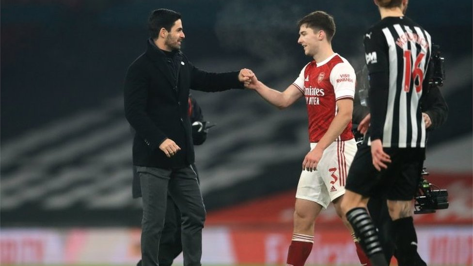 Arsenal menajeri Mikel Arteta