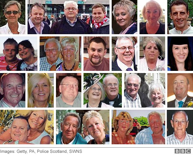 Photos of 30 British victims killed in Tunisia