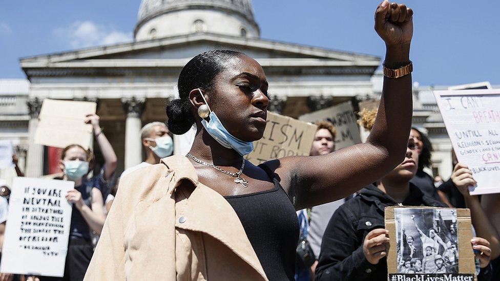 Black Lives Matter in the UK: 'We're still not being heard' - BBC News