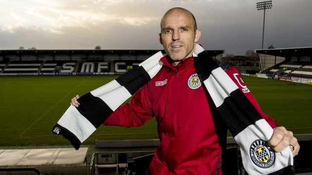 New St Mirren manager Alex Rae