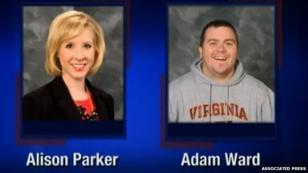 Alison Parker and Adam Ward