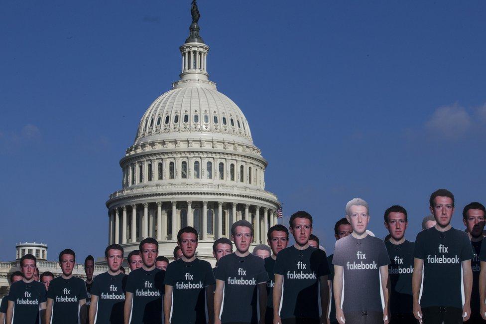 Protesta en Washington.