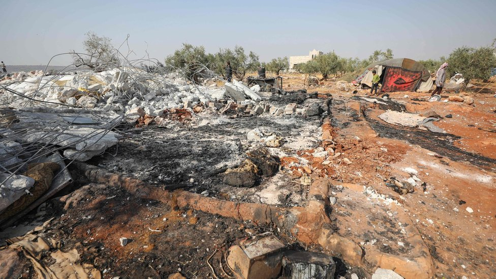Mesto na kom je američka vojska izvela akciju u Idlibu