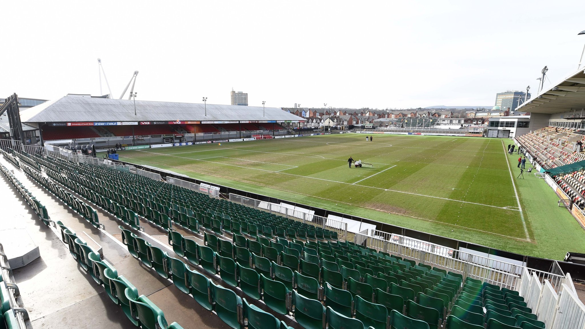 Rodney Parade: Newport to host Wales' opening three Euro 2021 qualifiers