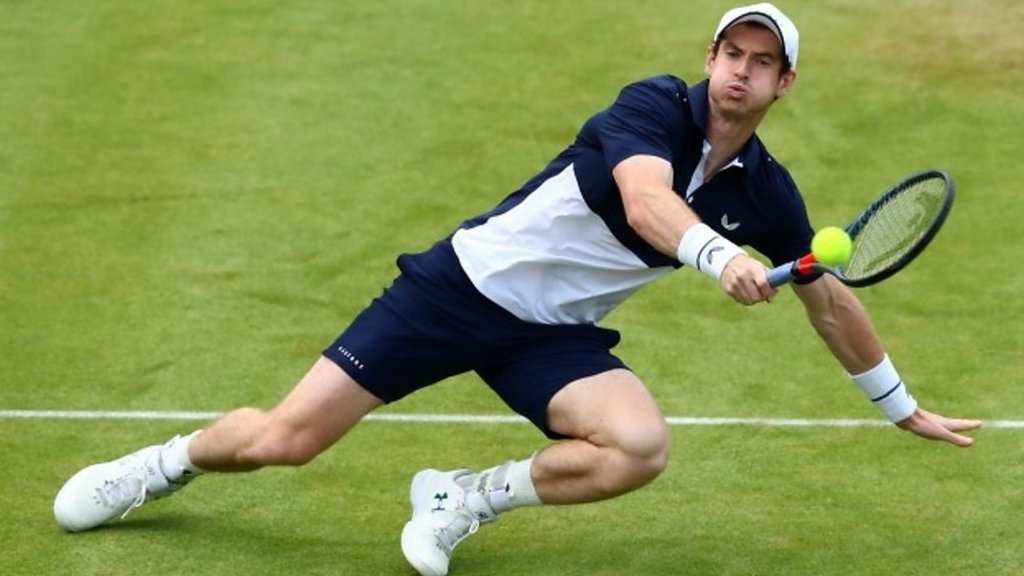 Andy Murray's 'magic' best shots on fairytale return at Queen's