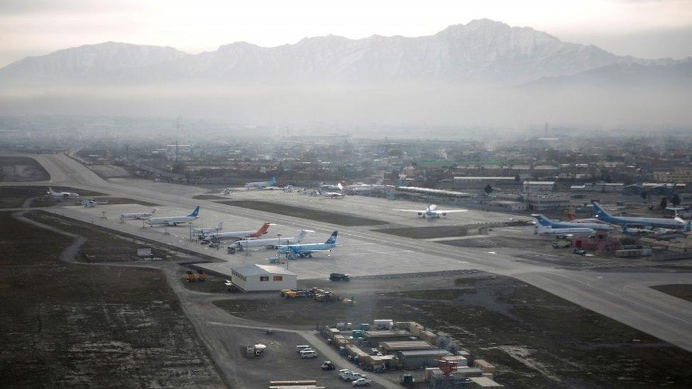 مطار حامد كرزاي الدولي في كابول (2016)