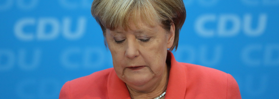 German Chancellor Angela Merkel - Berlin, 19 Sept