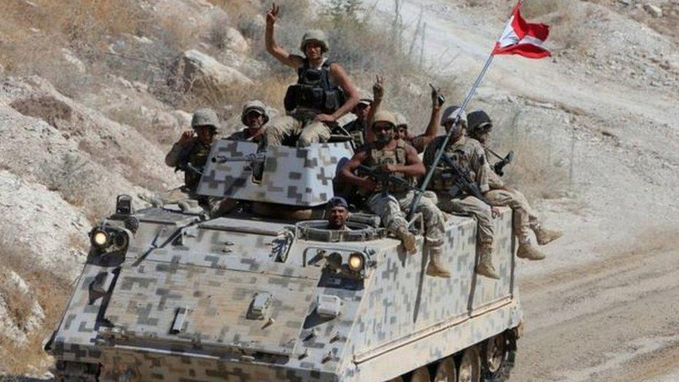 جنود لبنانيون