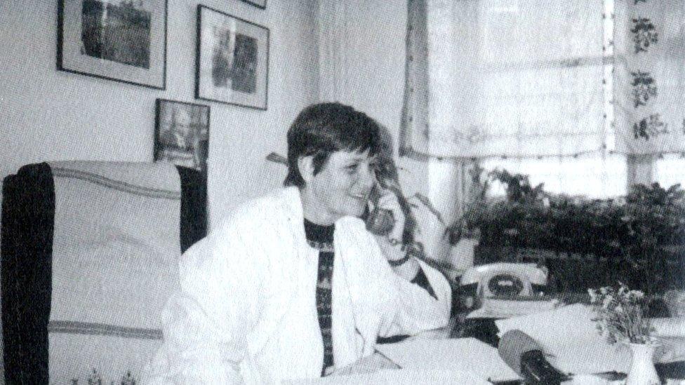 Çapa Hastanesi'ndeki odasında Türkan Saylan