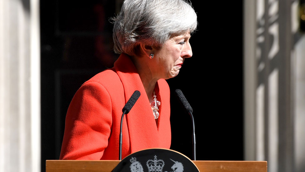 Theresa May's 'deep regret' over Brexit