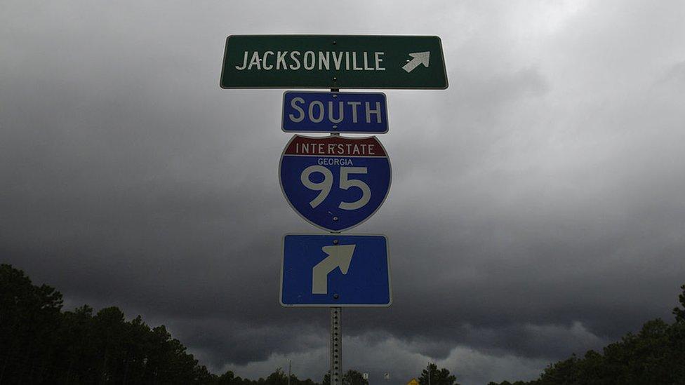 Ruta de Florida I-95