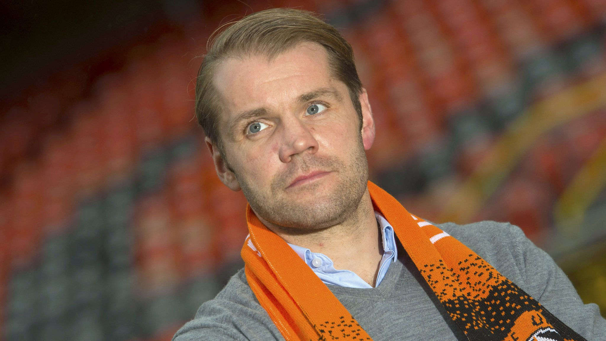 Dundee United boss Robbie Neilson in 'better place' after MK Dons experience