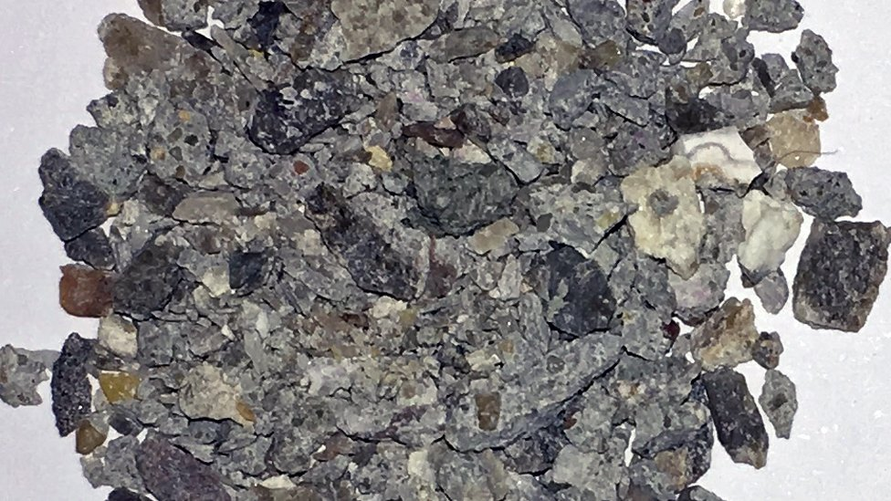 carbonated recycled aggregate