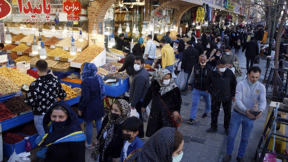 السوق الكبير في طهران