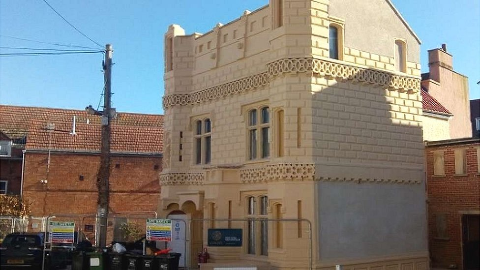 Bridgwater's miniature castle restored after £600k revamp