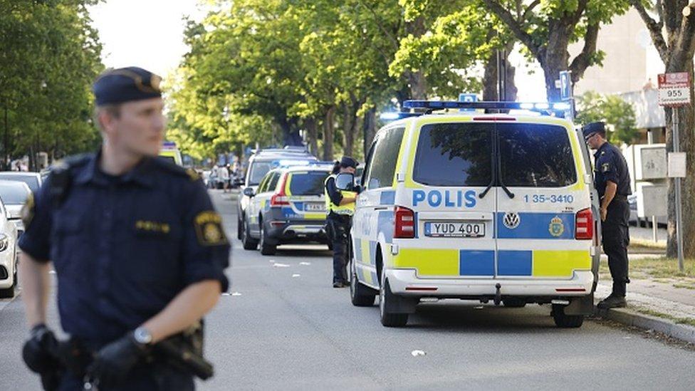 policija iz Stokholma