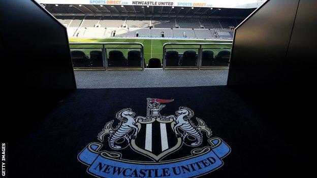 Newcastle's St James' Park