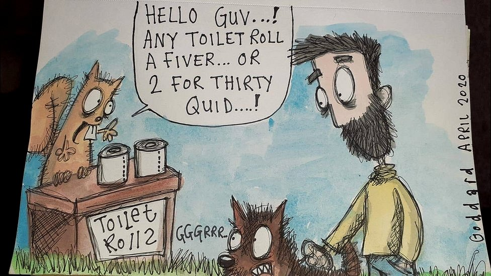 Coronavirus Cartoons Of Life In Lockdown Make People Smile Bbc News