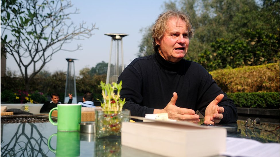 Wade Davis em 2013 na Índia