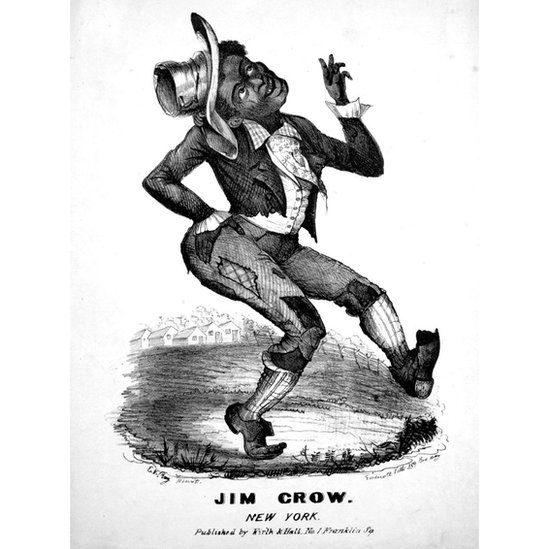 Sheet music cover image of the song 'Jim Crow',