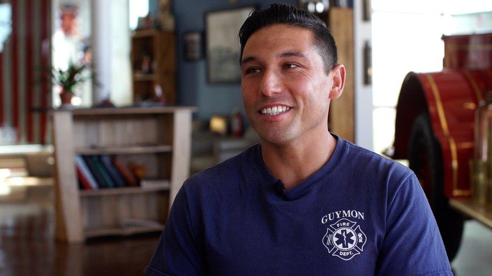 Los mexicanos, como Jesús Uribe, han reanimado pequeños pueblos rurales de EE.UU. como Guymon, Oklahoma.