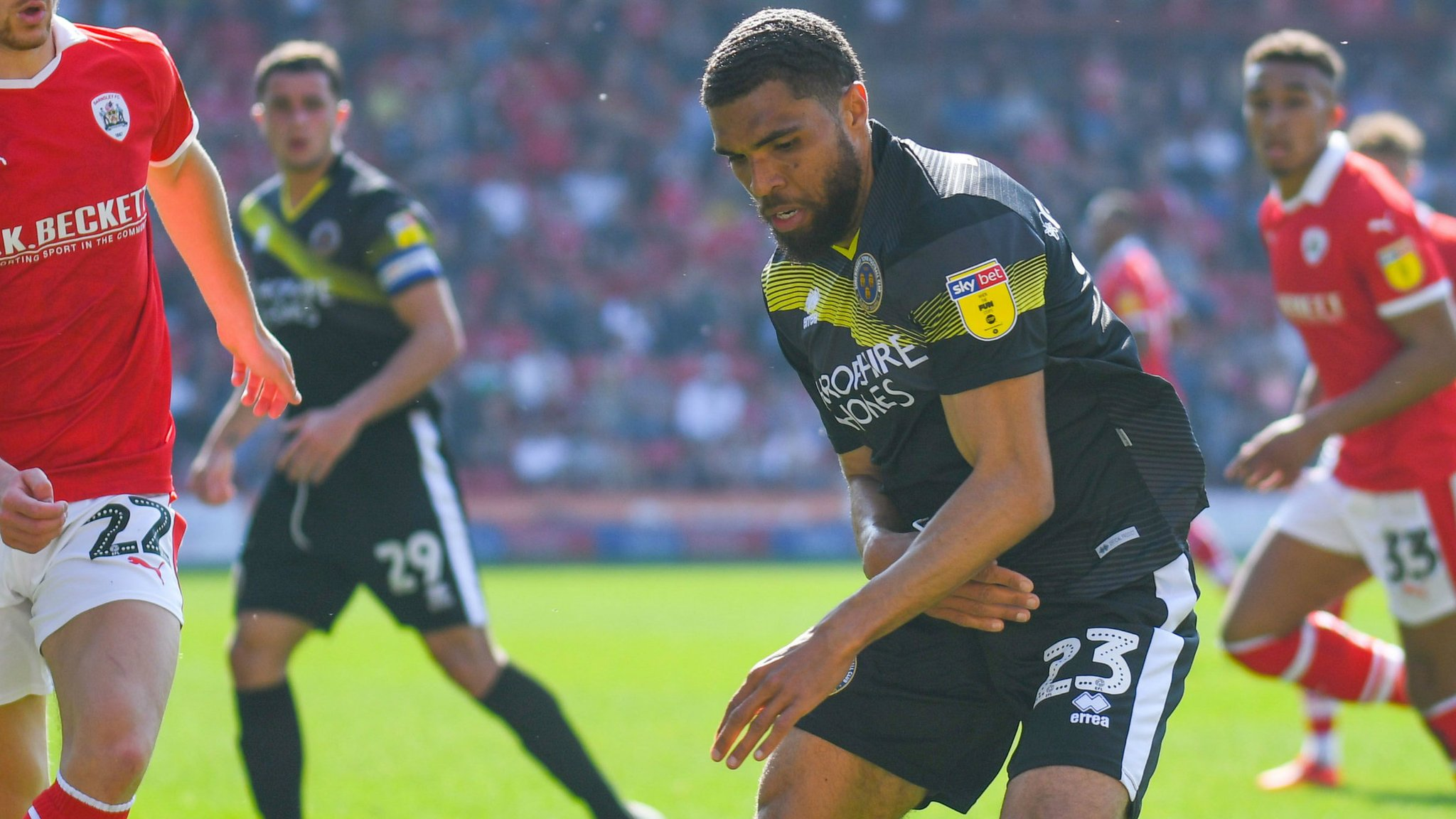 Scott Golbourne: Shrewsbury Town defender signs new two-year contract