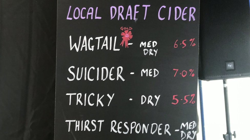 Brewery to remove 'insensitive' cider from festival