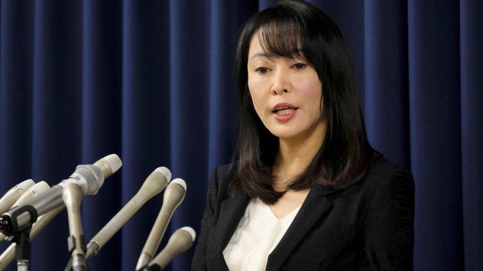 La ministra de Justicia de Japón, Masako Mori