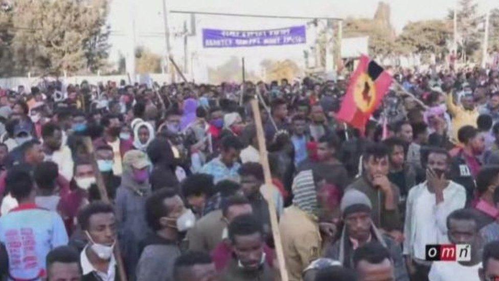 اضطرابات في اثيوبيا بعد مقتل المغني هاشالو هونديسا