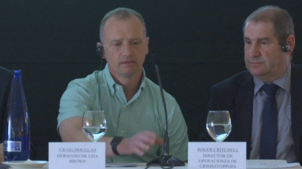 Craig Douglas at Spanish press conference