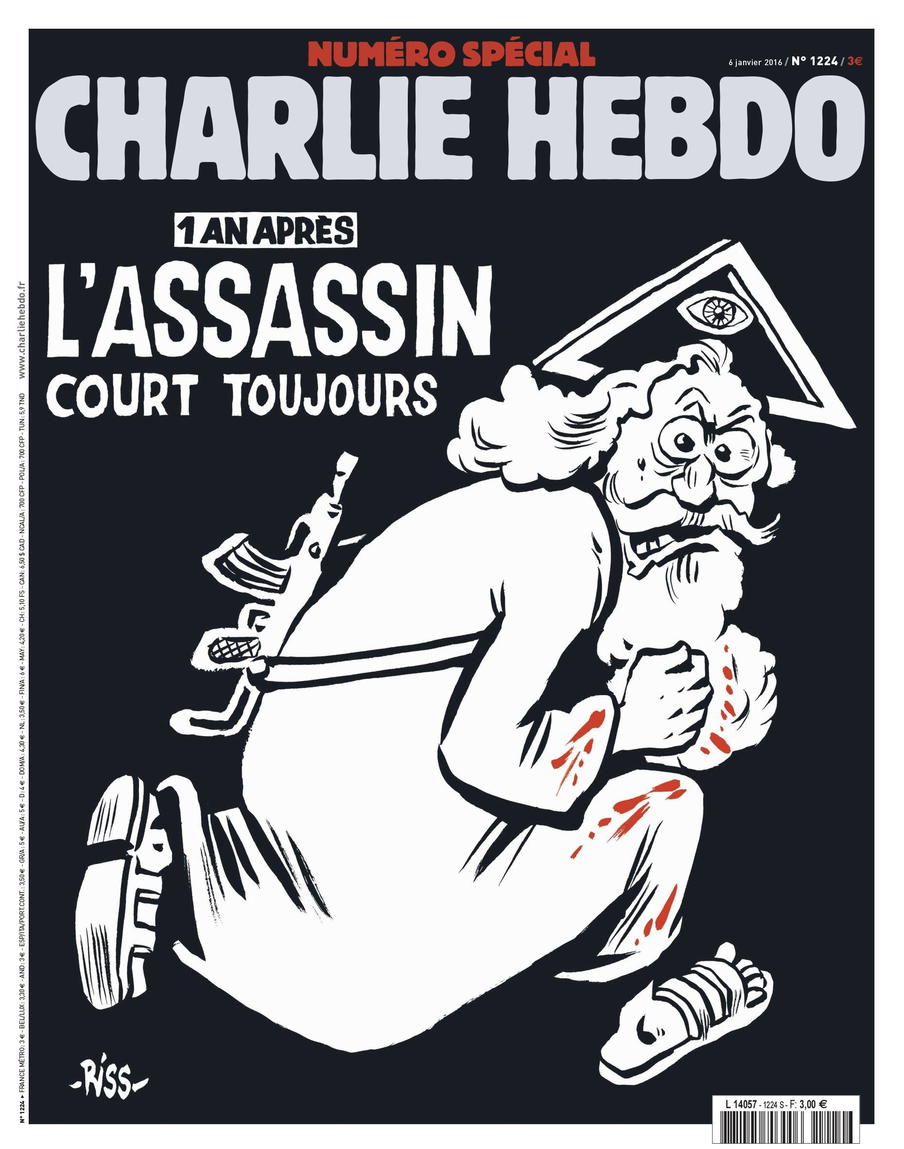 Charlie Hebdo Lives On But In Darkness Bbc News